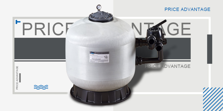 sand filter for clean water